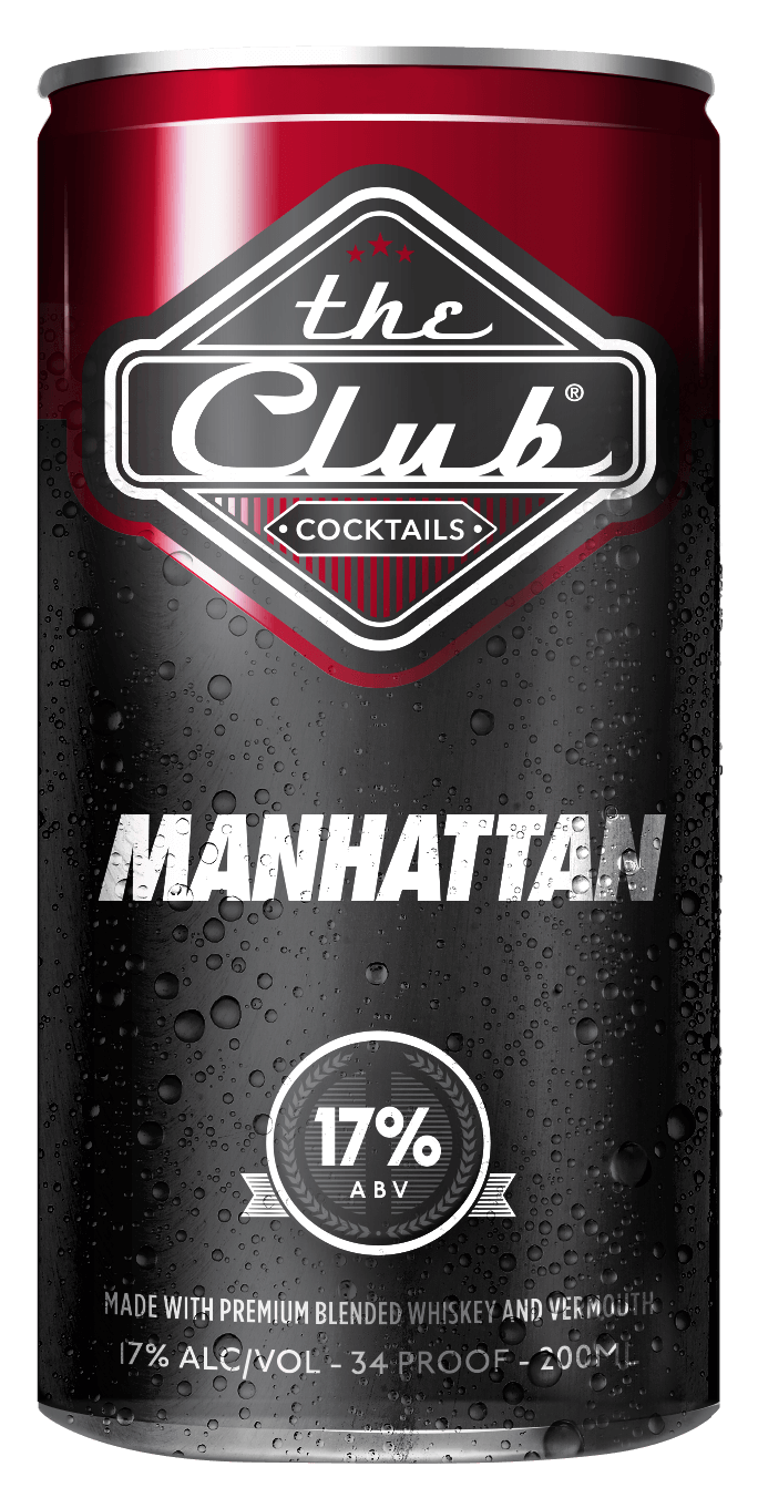 The Club Cocktails Manhattan 200Ml