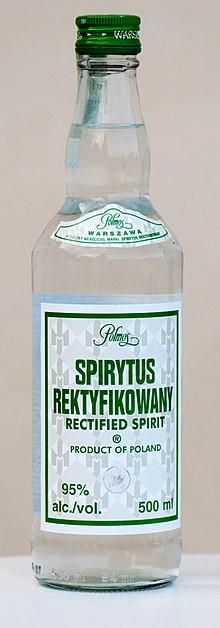 Spirytus Rectified Spirit 750ml