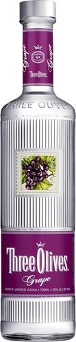 Three Olives Grape Flavored Vodka 1L