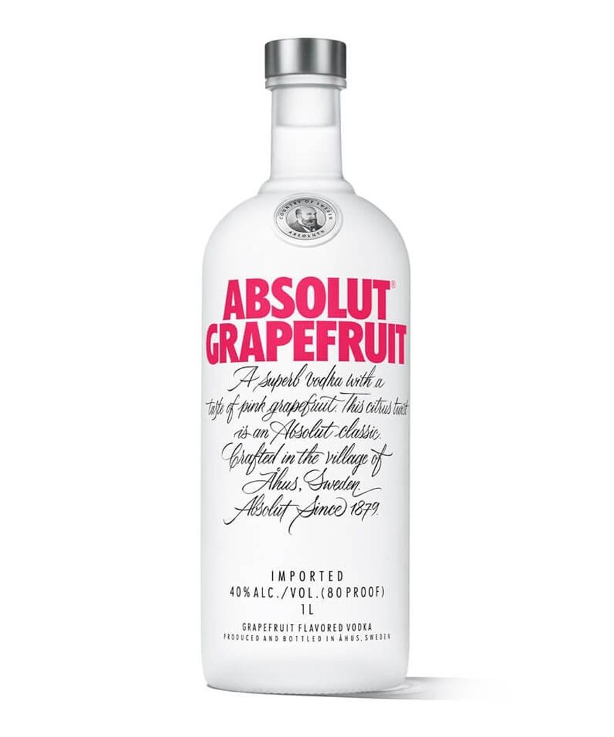 Absolut Grapefruit Flavored Vodka 1L