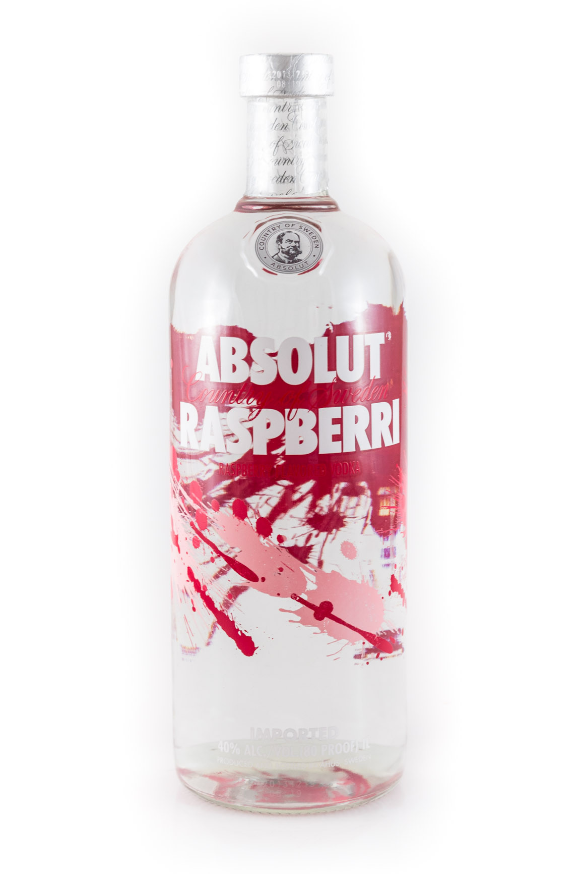 Absolut Raspberry Flavored Vodka 1L