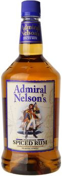 Admiral Nelson's Spiced Rum 1.75 Ltr