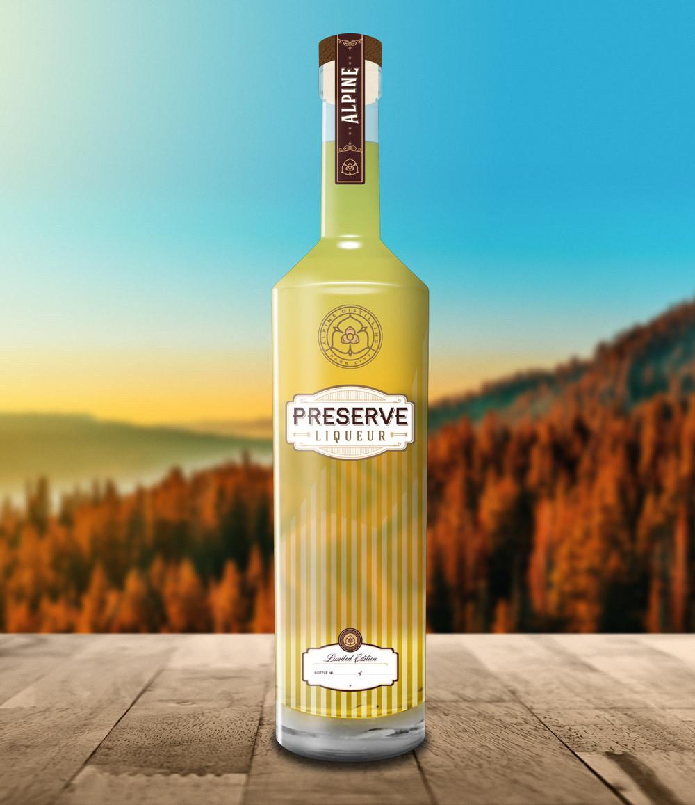 Alpine Preserve Liqueur 750ml