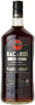 Bacardi Black Rum 1.75 Ltr