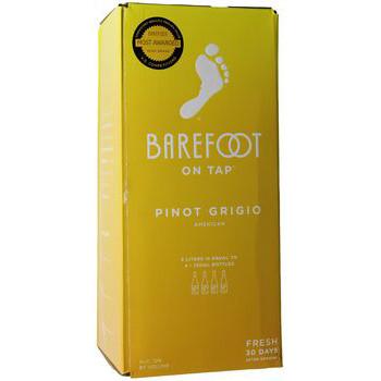 Barefoot Pinot Grigio 3Lt BIB