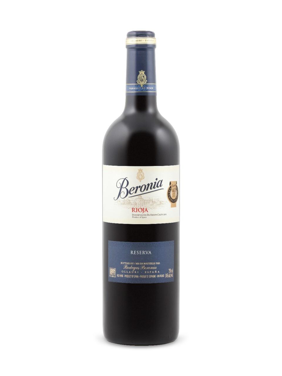 Bodegas Beronia Rioja Reserva
