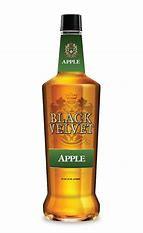 Black Velvet Apple Flavored Whisky 750