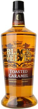Black Velvet Toasted Caramel Flavored Whiskey 1.75 Ltr