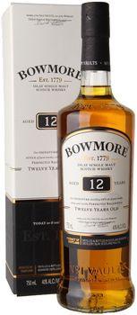Bowmore 12yr Single Malt Scotch 750ml