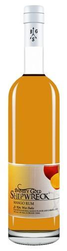 Brinley Gold Shipwreck Mango Flavored Rum 750ml
