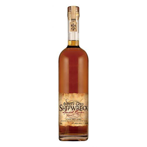 Brinley Gold Shipwreck Spiced Rum 750ml