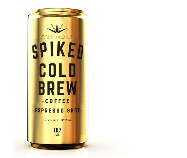 Cafe Agave Spiked Cold Brew Coffee Espresso Shot Can 187ml