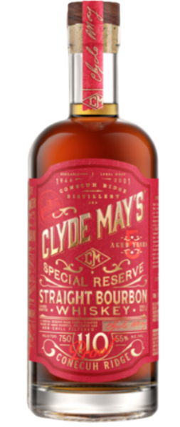 Clyde May Bourbon 5Yr 110 Proof 750ml