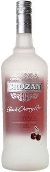 Cruzan Black Cherry Flavored Rum 1L