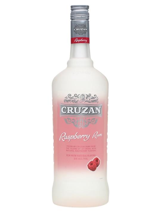 Cruzan Raspberry Flavored Rum 1L