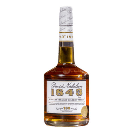 David Nicholson 1843 Kentucky Straight Bourbon 750ml