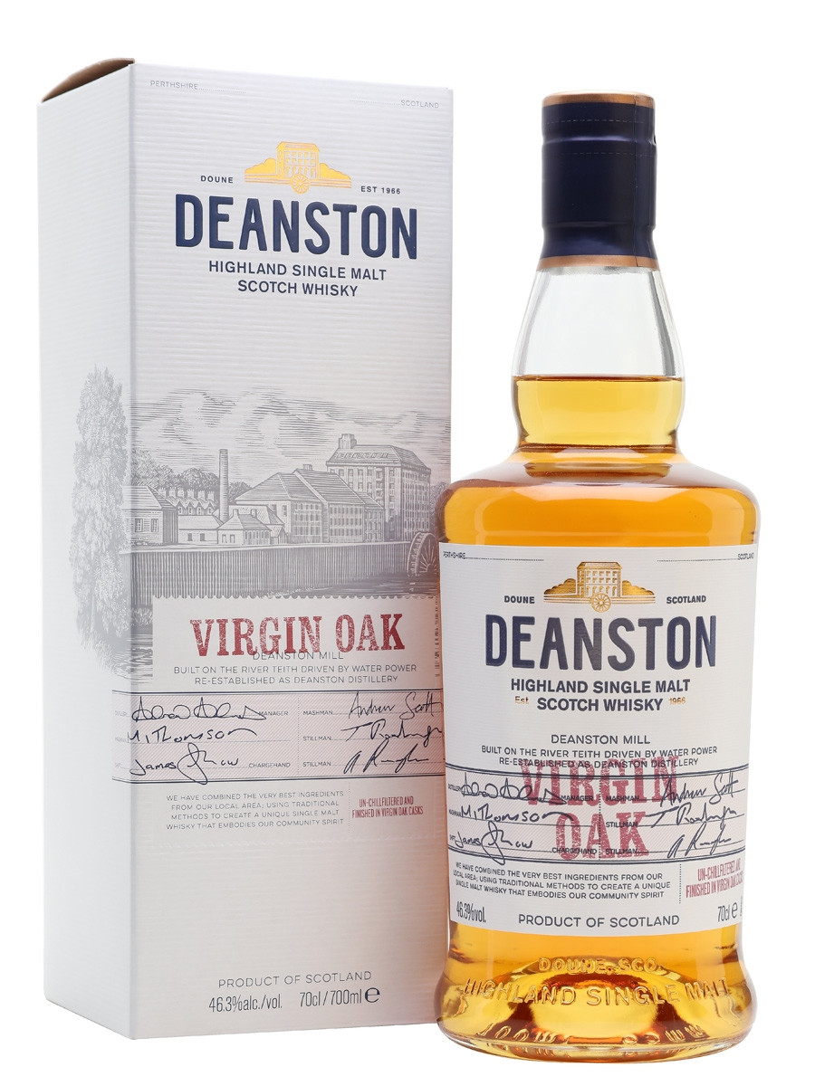 Deanston Virgin Oak Single Malt Scotch 750ml