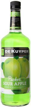 Dekuyper Sour Apple Pucker Schnapps 1L