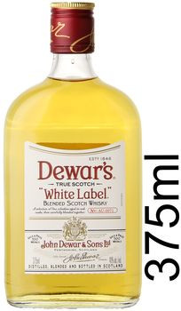 Dewar's White Label Blended Scotch 375ml