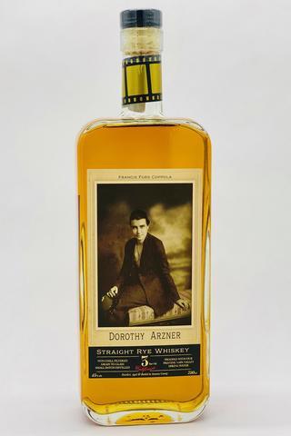 Dorothy Azner Straight Rye Whiskey 750ml