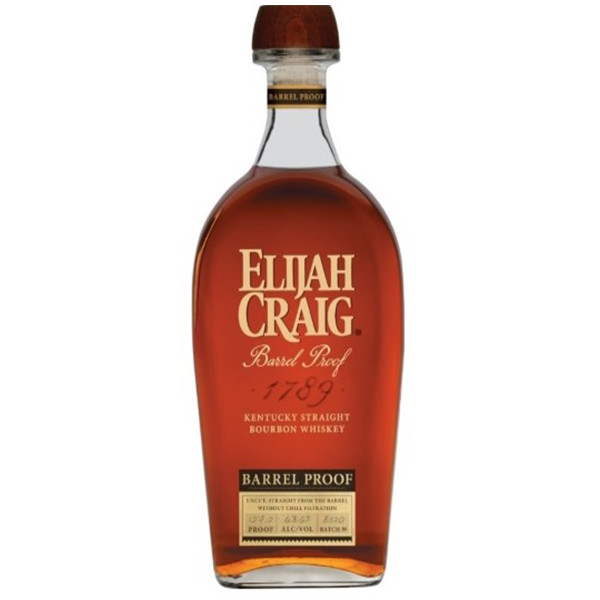 Elijah Craig Barrel Proof Kentucky Straight Bourbon Batch B520 750ml