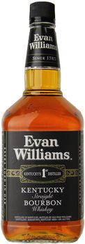 Evan Williams Black Label Kentucky Straight Bourbon 1.75 Ltr
