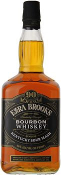 Ezra Brooks Kentucky Straight Bourbon 90 Proof 1.75 Ltr