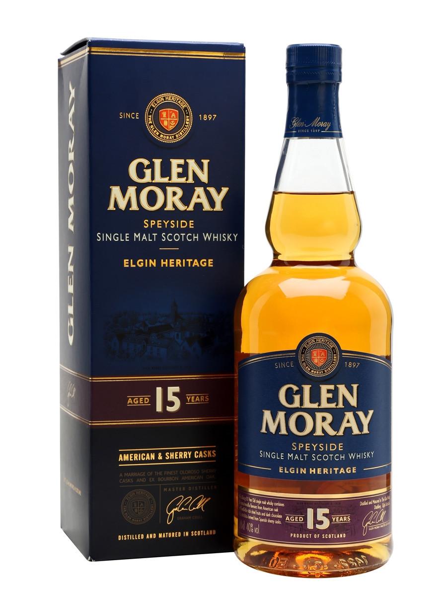 Glen Moray 15yr Single Malt Scotch 750ml