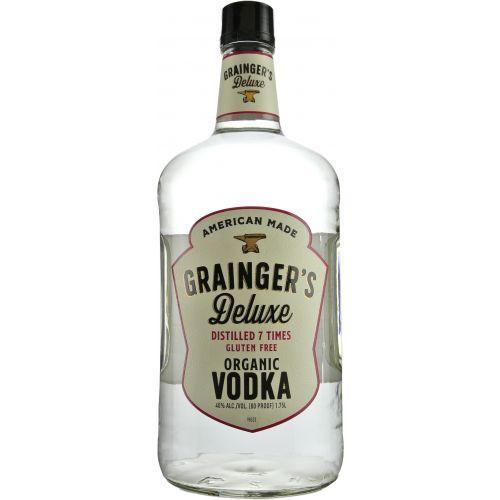 Grainger's Deluxe Organic Vodka 1.75 Ltr