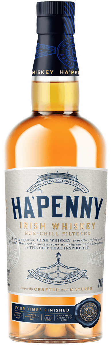 Ha'penny Irish Whiskey 750ml