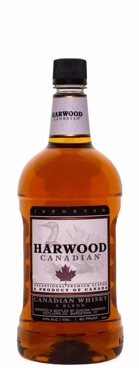 Harwood Canadian Whisky 1.75 Ltr