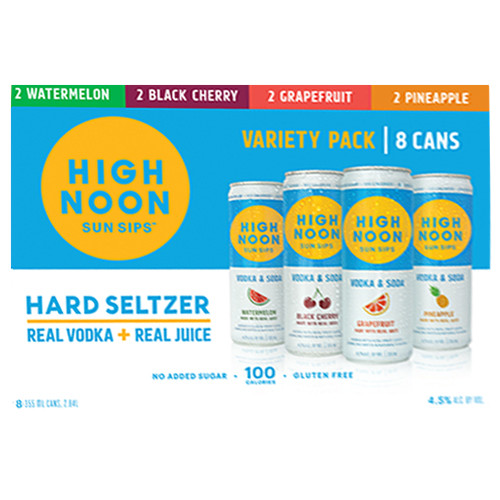 High Noon Hard Seltzer Variety Pack / 8-355ml