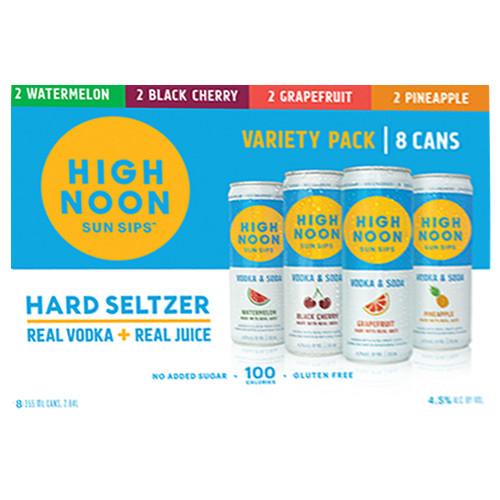 High Noon Hard Seltzer Variety Pack / 8-355ml