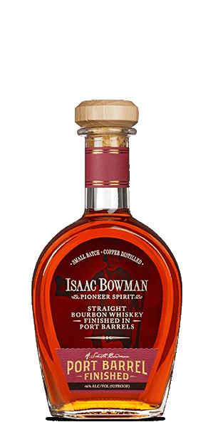 Isaac Bowman Bourbon Port Barrel Finish 750ml