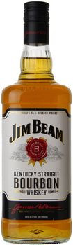 Jim Beam Kentucky Straight Bourbon 750ml