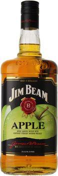 Jim Beam Apple Liqueur With Kentucky Bourbon 1L