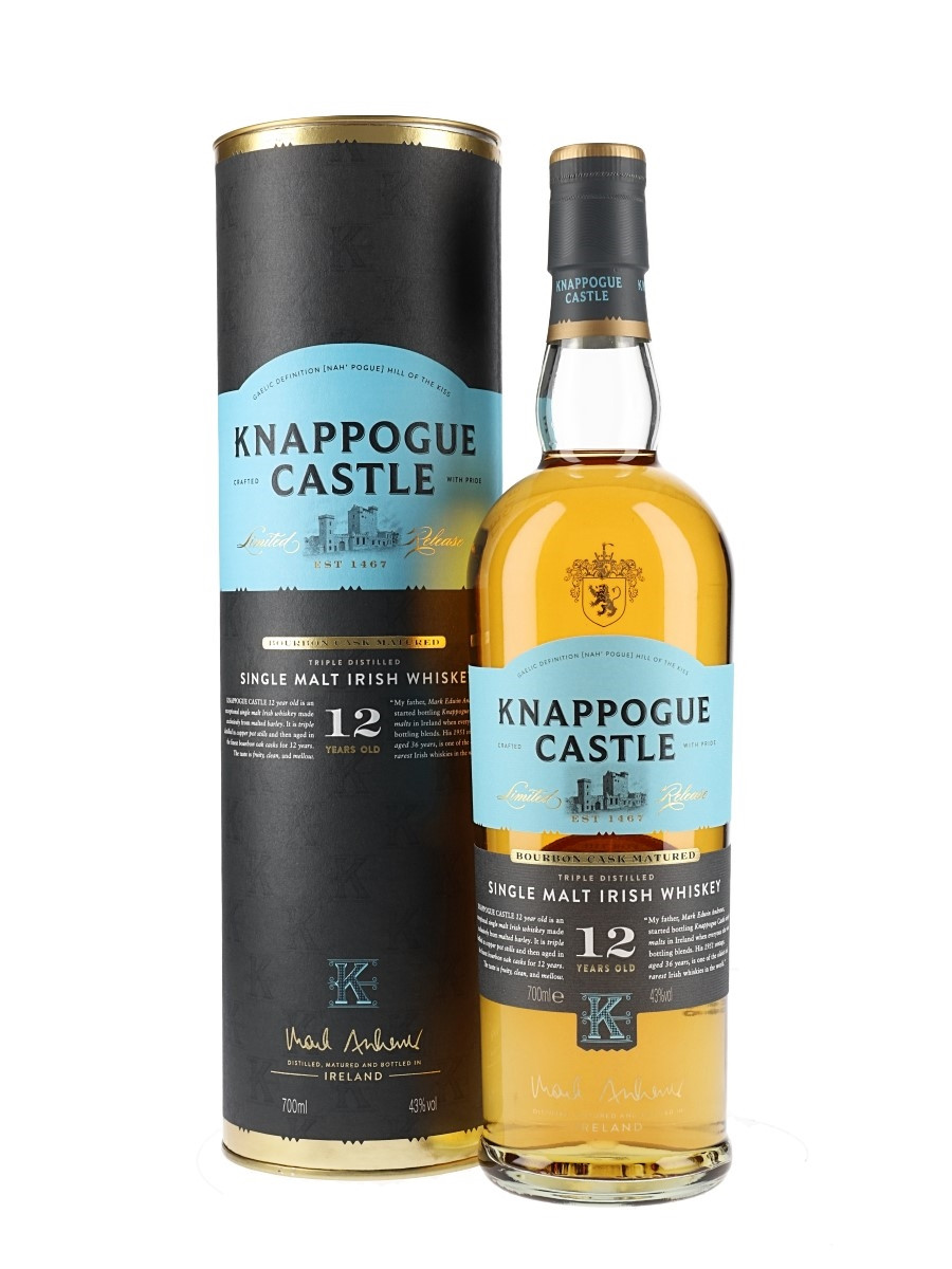 Knappouge Castle 12yr Irish Whiskey 750ml