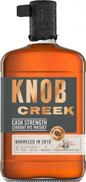 Knob Creek Cask Strength Rye 750ml