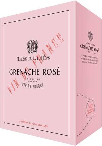 Les Allies Grenache Rose 3 Ltr