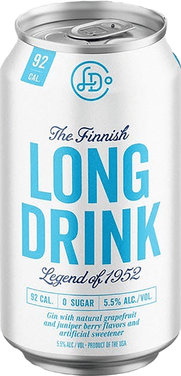 Long Drink Zero Sugar Can 355ml