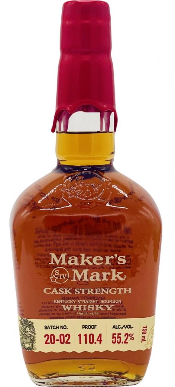 Maker's Mark Cask Strength 108.7 proof 750ML