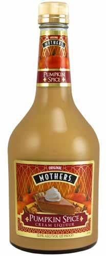 Mother's Pumpkin Spice Cream Liqueur 750ml