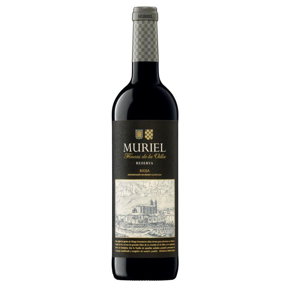 Bodegas Muriel Fincas de la Villa Rioja Reserva 750ml