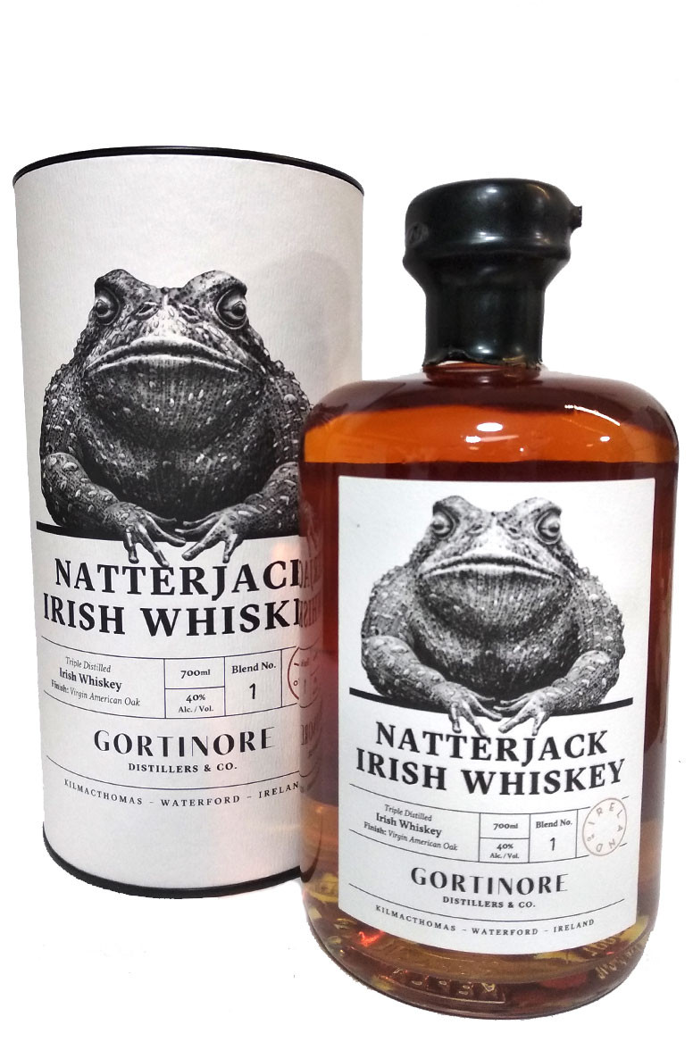 Natterjack Irish Whiskey 750ml
