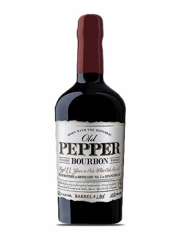 Old Pepper 11yr Straight Bourbon 750ml