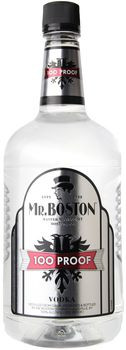 Mr. Boston Vodka 100 Proof 1.75 Ltr
