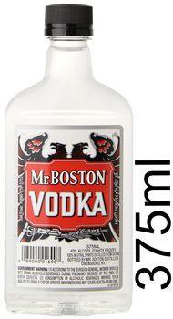 Mr. Boston Vodka 80 Proof 375ml