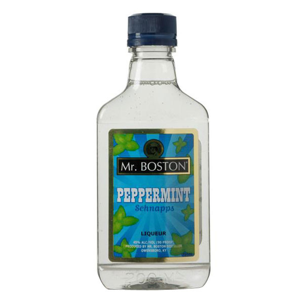 Mr Boston Peppermint Schnapps 375ml
