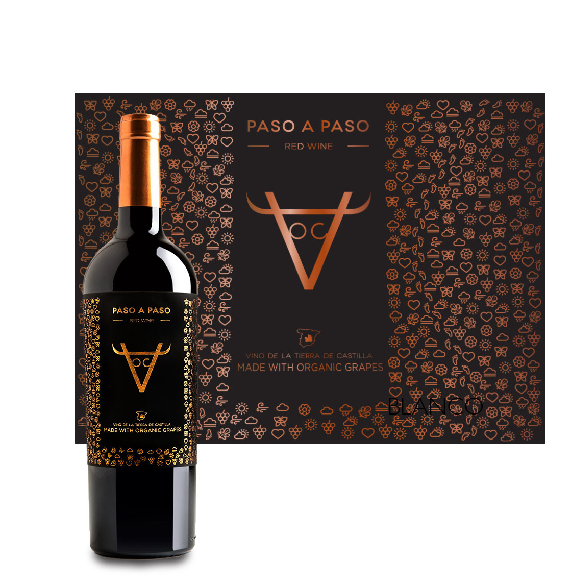 Paso A Paso Organic Red 750ml