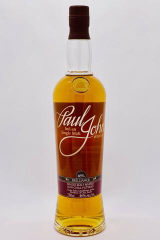 Paul John Brilliance Single Malt Whisky 750ml
